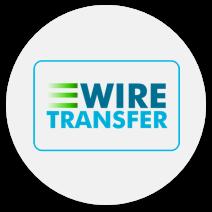 bank wire transfer casinos online