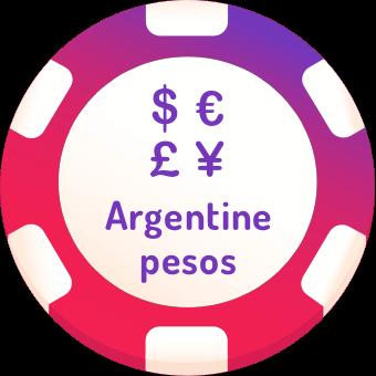 argentine pesos casinos logo