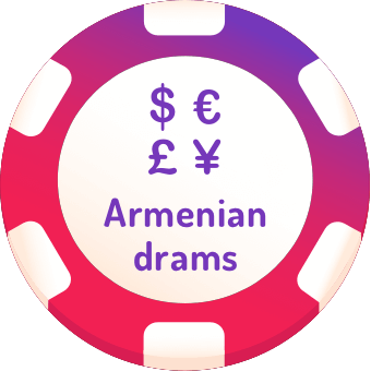 armenian drams casinos logo