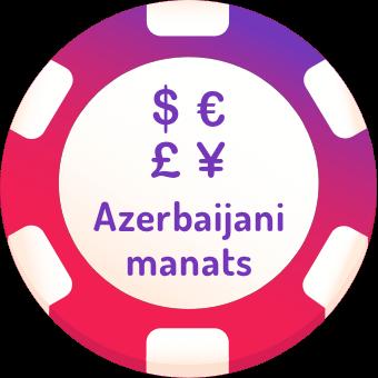 azerbaijani manats casinos logo