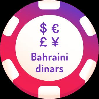 bahraini dinars casinos logo