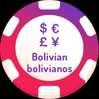 bolivian bolivianos casinos logo