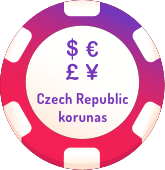 czech republic korunas casinos logo