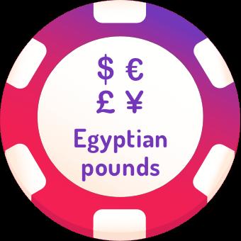 egyptian pounds casinos logo