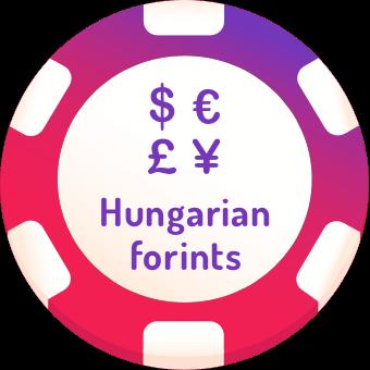 hungarian forints casinos logo