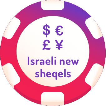 israeli new sheqels casinos logo