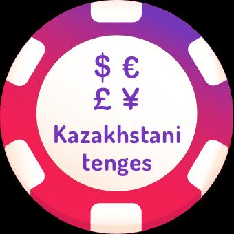 kazakhstani tenges casinos logo
