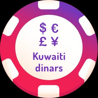 kuwaiti dinars casinos logo