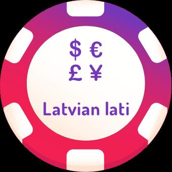 latvian lati casinos logo