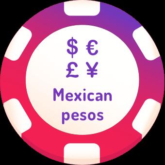 mexican pesos casinos logo