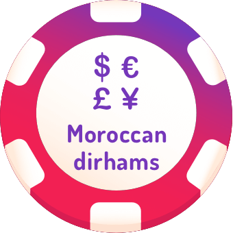 moroccan dirhams casinos logo