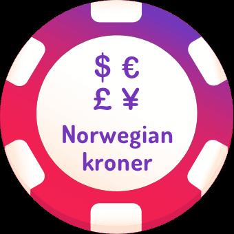 norwegian kroner casinos logo