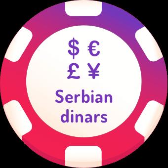 serbian dinars casinos logo
