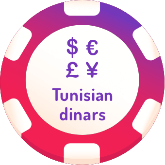 tunisian dinars casinos logo