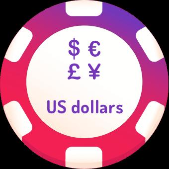 us dollars casinos logo